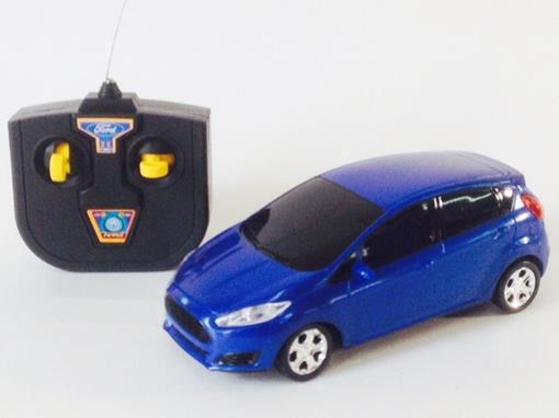 Ford: Fiesta - Controle Remoto - Azul - 1:24
