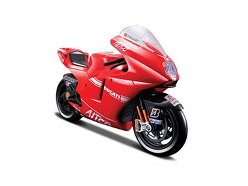 Ducati: Desmosedici - Casey Stoner N27 - Moto GP 2009 - 1:10
