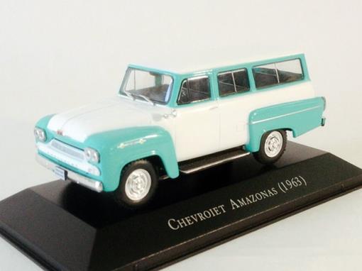 Chevrolet: Amazonas (1963) - Verde/Branco - 1:43 - Ixo