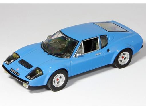 Ligier: JS2 Coupe (1972) - Azul - 1:43 - Altaya