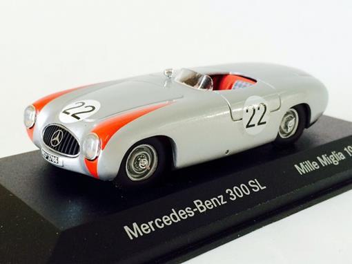 Mercedes Benz: 300 SL - Mille Miglia N22 (1952) - Prata - 1:43