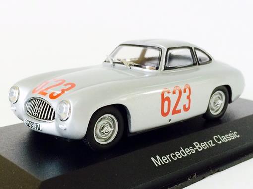 Mercedes Benz: 300 SL - Mille Miglia N623 (1952) - Prata - 1:43