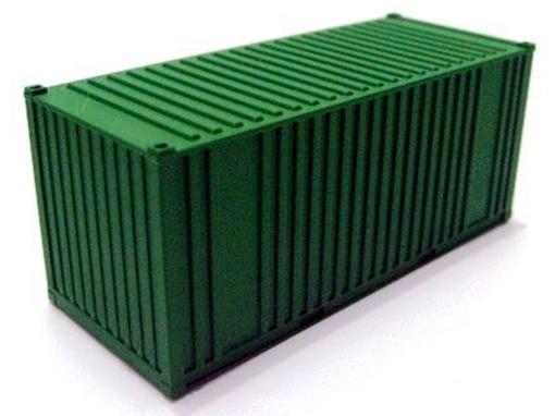 Container 20' - Verde - HO - FRATESCHI