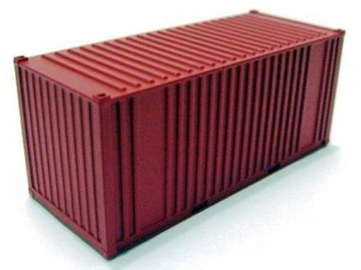 Container 20' - Vermelho - FRATESCHI - HO