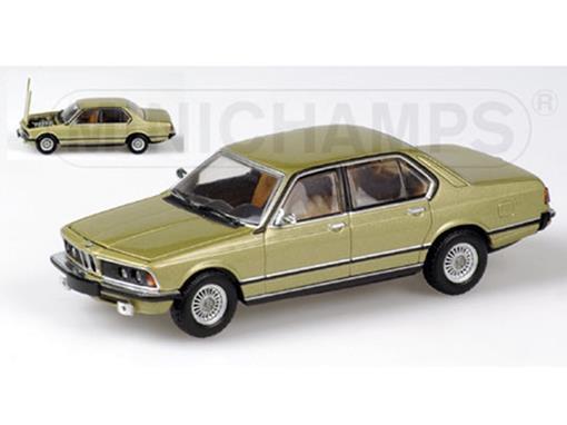 BMW: 733i (1977) - Ouro Metálico - 1:43 - Minichamps