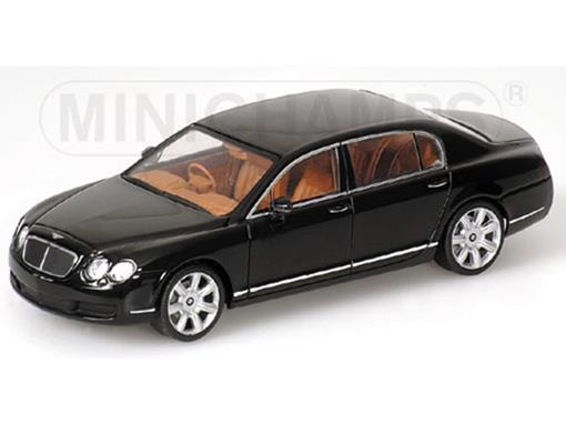 Bentley: Continental Flying Spur (2005) - Preto - 1:43 - Minichamps