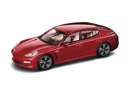 Porsche: Panamera - Vermelho - 1:43 - Minichamps