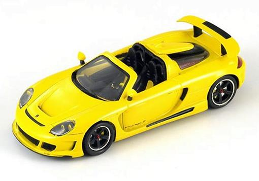 Porsche: Gemballa Mirage GT - Amarelo -  1:43 - Spark