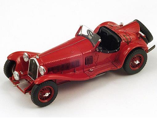 Alfa Romeo: 8C Touring (1936) - Vermelho -  1:43 - Spark