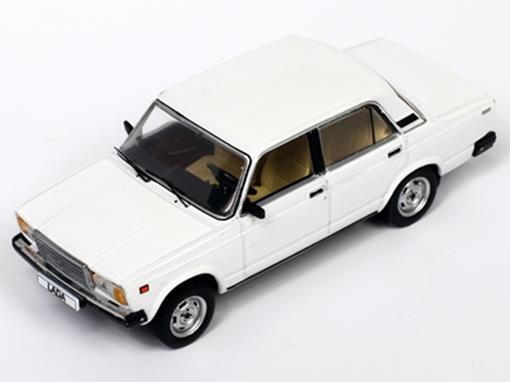 Lada: Vaz 2107 (1986) - Branco - 1:43