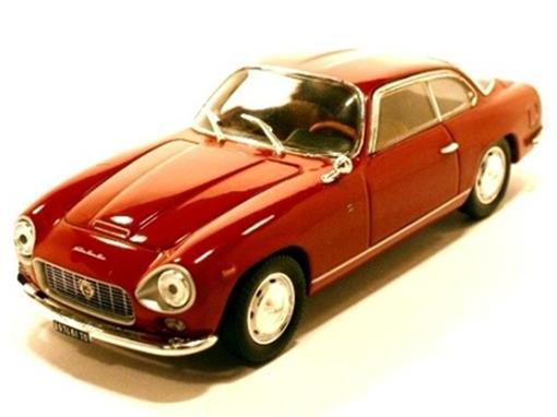 Lancia: Flaminia Coupe Sport Zagato (1964) - Vermelho - 1:43