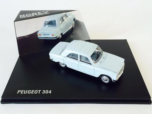 Peugeot: 304 - Azul - 1:43 - Norev