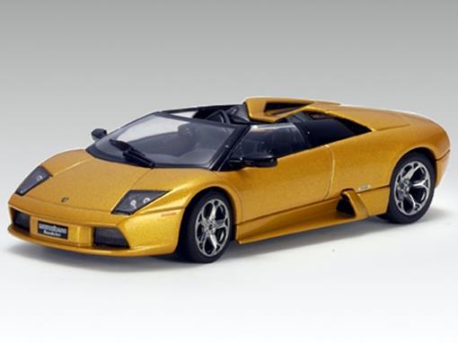 Lamborghini: Murciélago Roadster - Ouro - 1:43 - Autoart
