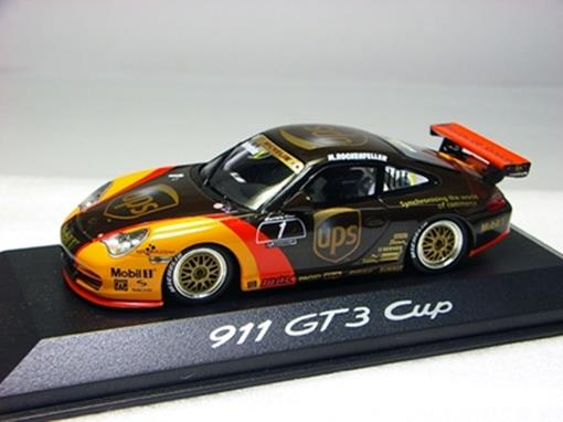 Porsche: 911 GT3 Cup UPS #1 - M Rockenfeller -  1:43 - Minichamps