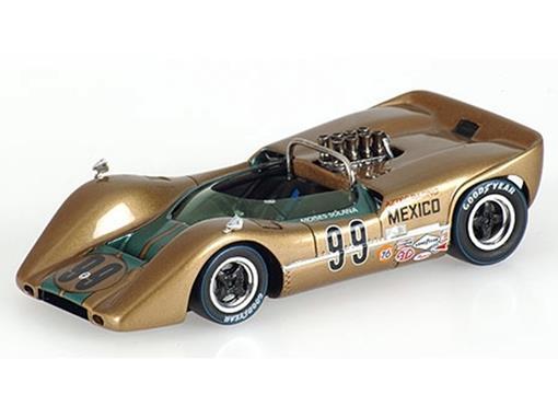McLaren: M6B - M. Solana No.99 (Mexico 1968) - 1:43 - Spark