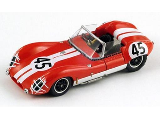 Lola: MK1 - C. Voegele / P. Ashdown No.45 - Le Mans (1960) - 1:43