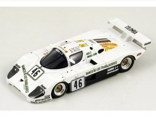 Sauber: C7 - #46 - 9th Le Mans (1983) - 1:43 - Spark
