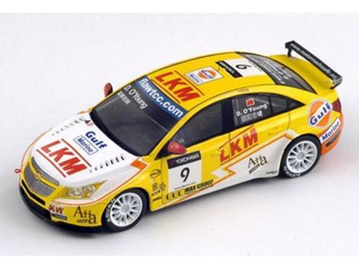 Chevrolet: Cruze 1.6T - WTCC #9 - Macau GP 2011 - 1:43 - Spark