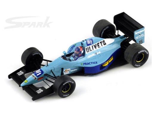 Leyton House: March CG911 - J. Lammers - Japan GP 1992 - 1:43 - Spark