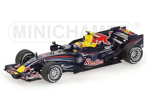 Red Bull Racing: Renault RB4 - M. Webber (2008) - 1:43 - Minichamps