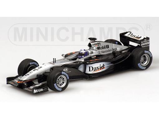 McLaren Mercedes: MP4-17- D. Coulthard (2002) - 1:43 - Minichamps