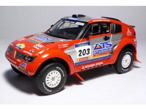 Mitsubishi: Pajero Evolution #203 (2004) - Dakar 26 Edition - 1:43 - Norev