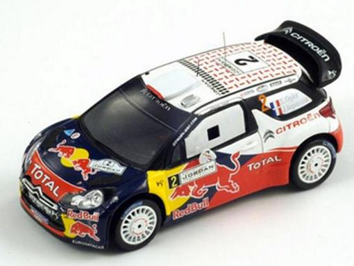 Citroen DS3 WRC #2 - Winner Jordan Rally (2011) - 1:43 - Spark