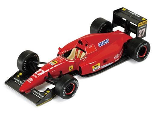 Ferrari: F92A - Jean Alesi #27 - French  GP 1992 - La Storia - 1:43 - Ixo