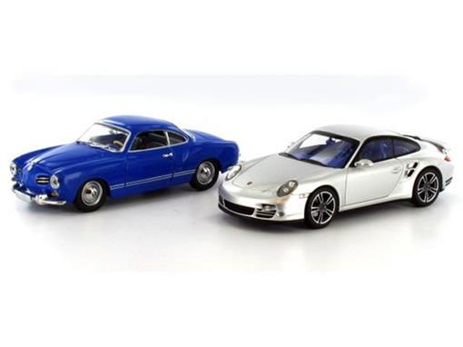 Set: Volkswagen Karmann Ghia Coupé (1955) / Porsche 911 Turbo (2010)
