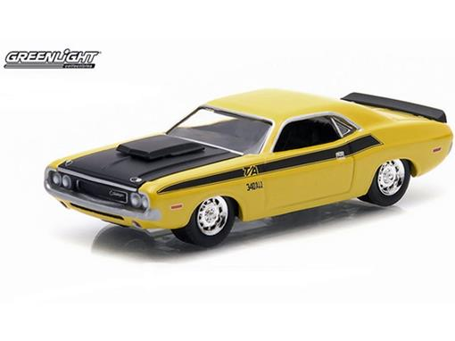 Dodge: Challenger T/A (1970) - Amarelo - GL Muscle - Série 12 - 1:64 - Greenlight