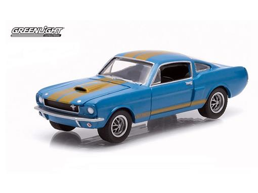 Ford: Shelby GT 350H (1966) - Azul - GL Muscle - Série 12 - 1:64 - Greenlight