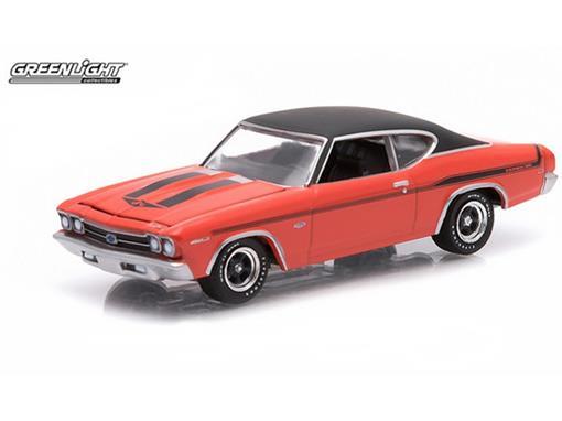 Chevrolet: Chevelle Yenko Copo (1969) - Laranja - GL Muscle - Série 12 - 1:64 - Greenlight