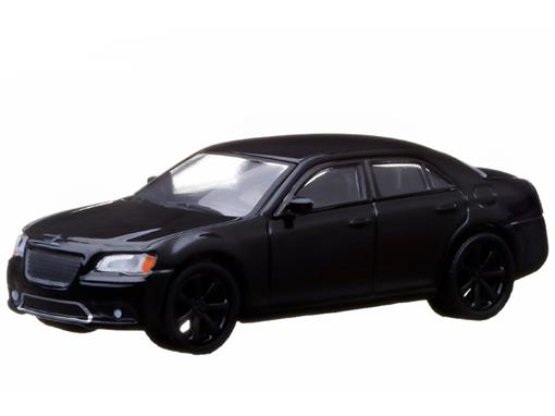 Chrysler: 300 SRT (2013) - Black Bandit - Série 9 - 1:64 - Greenlight