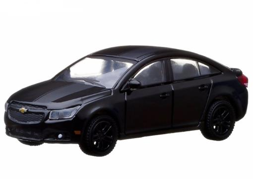 Chevrolet: Cruze (2013) - Black Bandit - Série 9 - 1:64 - Greenlight