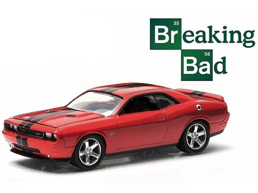 Dodge: Challenger SRT8 (2012) - Breaking Bad - Hollywood - Série 9 - 1:64 - Greenlight