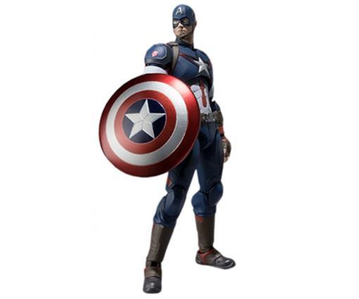 Boneco Captain America - Avengers Age Of Ultron - S.H.Figuarts - Bandai