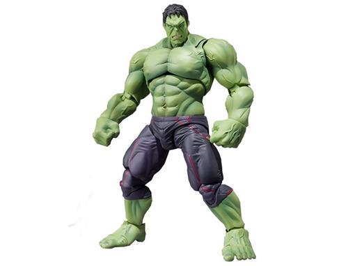 Boneco Hulk - Avengers Age Of Ultron - S.H.Figuarts - Bandai