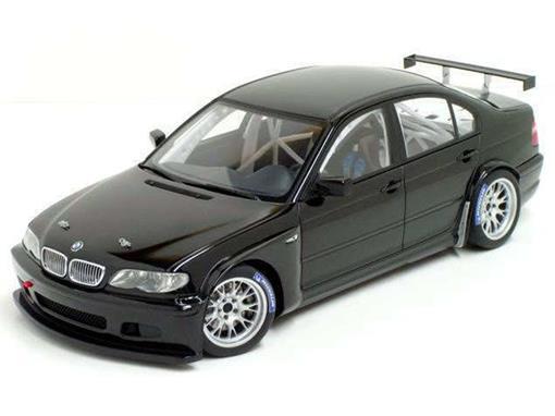 BMW: 320i WTCC - Plain Body Version (2005) - Preto - 1:18 - Autoart