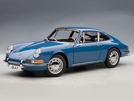 Porsche: 911 (1964) - Azul - 1:18 - Autoart