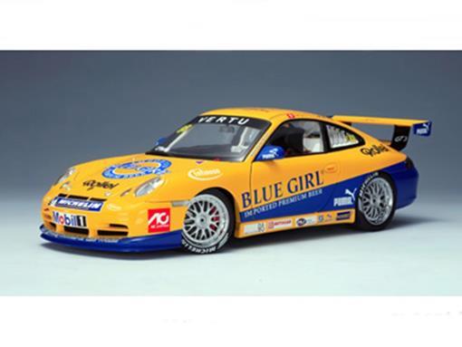 Porsche: 911 (996) Infineon GT3 Cup Asia - Macau Winner #88 (2005) - 1:18 - Autoart