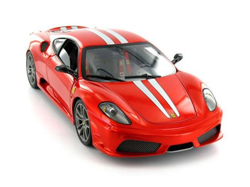 Ferrari: 430 Scuderia - Vermelha - 1:18 - Hot Wheels Elite
