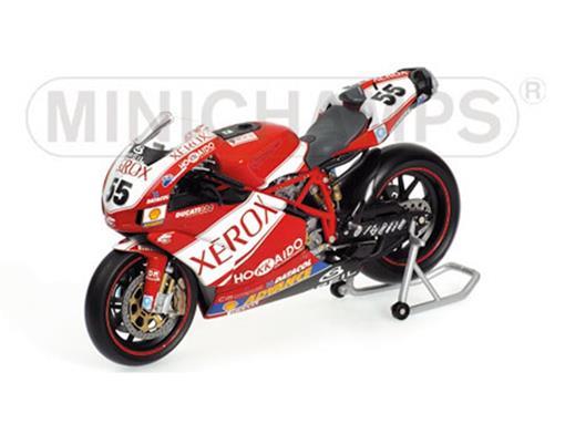 Ducati: 999 F05 - Regis Laconi - Team Ducati Xerox - WSB (2005) - 1:12 - Minichamps