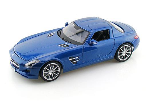 Mercedes Benz: SLS AMG - Azul - 1:18 - Maisto