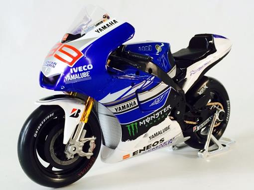 Yamaha: Factory Racing Team - #99 Jorge Lorenzo - MotoGP 2013 - 1:10 - Maisto