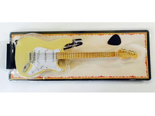 Miniatura de Guitarra Stratocaster - Creme (Blister) - 1:4