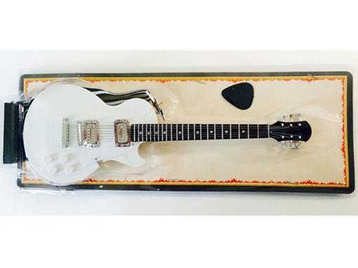 Miniatura de Guitarra Les Paul - (Branca) - Blister - 1:4