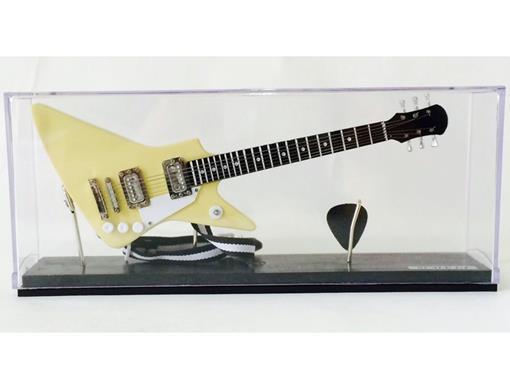 Miniatura de Guitarra Explorer (Creme) - Acrílico - 1:4