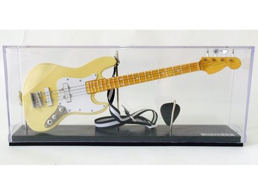 Miniatura Baixo Elétrico Jass Bass (Creme) - Acrílico) - 1:4
