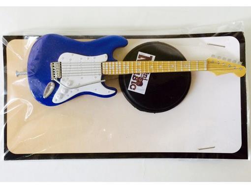 Miniatura de Guitarra Stratocaster - Azul (Blister) - 12 cm
