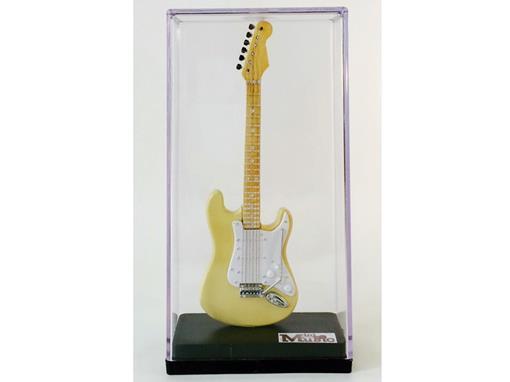Miniatura de Guitarra Stratocaster - Amarela (Acrílico) - 12 cm